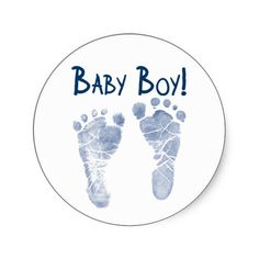Shop It's a baby boy! classic round sticker created by Personalize it with photos & text or purchase as is! Baby Elephant Drawing, Baby Drawing, Baby Clip Art, Baby Art, Imprimibles Baby Shower, Baby Messages, Baby Boy Cards, Welcome Baby Boys, Baby Boy Themes