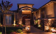 Outdoor Light Fixtures | Opt: Ceiling, Wall, Pole, Landscape
