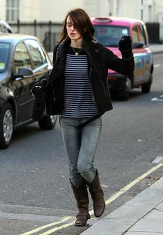 Keira Knightley's awesome casual outfit
