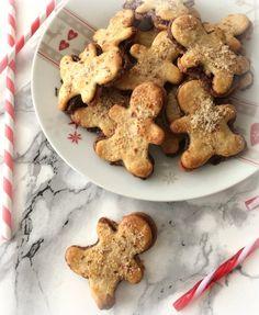 Petits biscuits fourrés à la pâte à tartiner Nocciolata (vegan) Recipe Box, Vegan, Gluten, Desserts, Recipes, Anna, Food, Good Food, No Egg Cookies