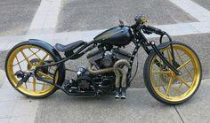 Cool custom Harley