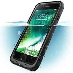 iPhone 8 Plus Case, i-Blason [Aegis] Waterproof Full-body Rugged Case with Built-in Screen Protector for Apple iPhone 7 Plus 2016 / iPhone 8 Plus 2017 Release (Black) Iphone 8 Plus, Buy Iphone 7, Best Iphone, Iphone 8 Cases, Cell Phone Cases, Apple Iphone, Kit Main Libre, Coque Iphone 7 Plus, Mens Gadgets
