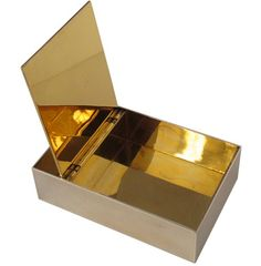 Hermes Sterling Silver Dresser Box with Gold Washed Interior