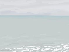 Danny Mooney 'Misty moisty, 22/11/2014' iPad painting #APAD