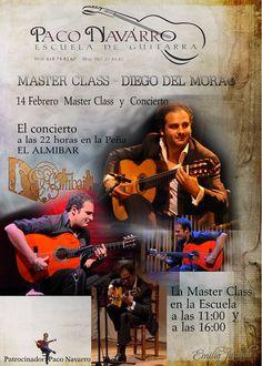 FUNDACIÓN GUITARRA FLAMENCA www.fundacionguitarraflamenca.com   MASTER CLASS  DIEGO DEL MORAO  ESCUELA PACO NAVARRO