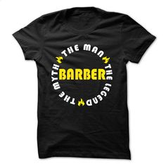 BARBER Is The Legend Cool Shirt  T Shirt, Hoodie, Sweatshirts - custom hoodies #Tshirt #T-Shirts