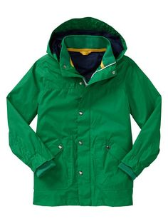 gap kids rain coat for boys - so hard to find cute ones for boys!