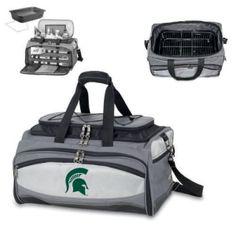 "Michigan State Spartans NCAA ""Buccaneer"" Tailgating Cooler (Digital Print Logo)"