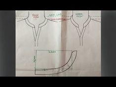 Round collar neck design cutting and stitching DIY tutorial Part 3 Neck Designs For Suits, Neckline Designs, Dress Neck Designs, Collar Designs, Collar Kurti Design, Kurta Neck Design, Techniques Couture, Sewing Techniques, Sewing Collars