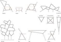bamboo furniture systems - designboom | architecture & design magazine
