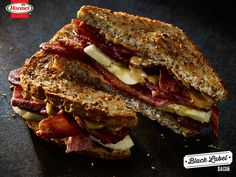 The best sandwich of your life -– fried peanut butter, bacon and banana sandwich. Elvis would be proud. Banana Sandwich, Best Sandwich, Soup And Sandwich, Sandwich Board, Sandwich Recipes, Banana Bread, Types Of Sandwiches, Cold Sandwiches, Peanut Butter Banana
