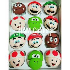 Mario Bross cupcakes …