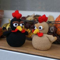 little brown chicken amigurumi pattern