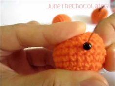 1st Crochet/Amigurumi Orange Tutorial By JuneTheChoCoLateGirl - YouTube