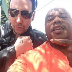 Marilyn Manson's First Day On The Set // Sons Of Anarchy // i'm looking forward to seeing his role and how he acts!