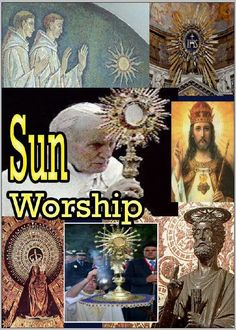"""Sun worshipers ? I always wondered how they can even get heads to think they accutually can worship a SUN? Bible & Truth at """" JW.ORG """""""