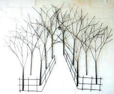 Image result for twig wall art