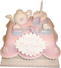 Mothers Day Cake #TeaParty We love! And had to share #GreatCakeDecorating