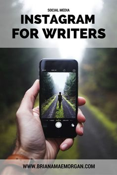 Instagram For Writers | Thoughts on using this visual platform as an extension of your writer's brand.