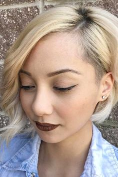 Beautiful Blonde Short Hairstyles picture 6