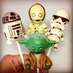 Star Wars Cake Pops By Pop Me Up - (Inspiration)