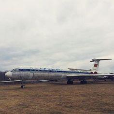#aeroflot #old #ilyushin #il62 #monino #museum #moscow #russia #soviet #airliner #vintage #coldwar #aviation #aircraft #technology #instaplane #picoftheday