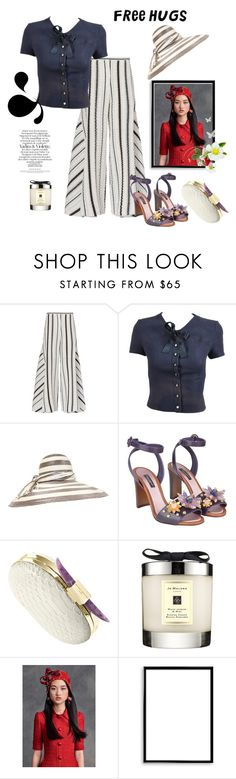 """""""Free Friday Hugs for you"""" by juliabachmann ❤ liked on Polyvore featuring Peter Pilotto, Chanel, Nina Ricci, Dolce&Gabbana, Jo Malone and Bomedo"""