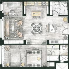 FLOOR PLAN, soho loft