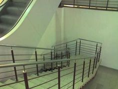 Ha ha ha - this is the staircase where you tell those co-workers you don't like to head for in case of a fire...