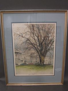 shopgoodwill.com: Vintage Washington DC Capitol Building Etching