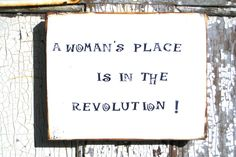 Empowering Messages,For Women,Womens Revolution,Womens March,She Persisted,Boho Dorm Decor,Wood Wall Art,Reclaimed Wood Sign,Womens Rights by BlackCrowCurios on Etsy