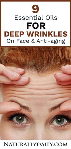 There are lots of anti-aging skin care products in the market. However, it is always safer to go natural with your skin care routine. If you're searching for natural anti-aging routines, then essential oils are your best bet. Huile Anti Ride, Get Rid Of Blackheads, Beauty Tips For Face, Beauty Advice, Face Tips, Beauty Secrets, Face Wrinkles, Les Rides, Tips Belleza