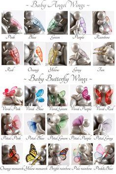 Pregnancy Loss Keepsake angel sculpture for by TheMidnightOrange
