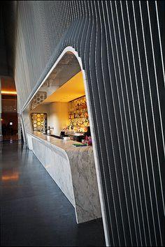 Hotel Silken Puerta America | Flickr - Photo Sharing! Clinic Interior Design, Interior Design Business, Interior Design Living Room, Cafe Restaurant, Restaurant Design, Lobby Design, Design Hotel, Barcelona Hotels, Space Interiors
