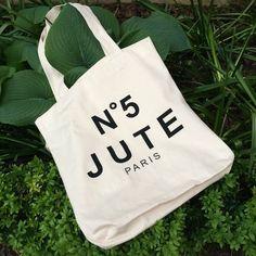 Jutebeutel - Statementbag/ Jutebeutel witzig und öko - ein Designerstück von woodlex bei DaWanda