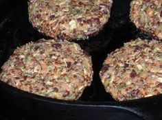 Quinoa burger, a site full meatless recipes. :)