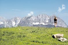 Die Kitzbüheler Gamsstadt ist Ausgangspunkt für 1.000 Kilometer Wanderrouten. Die schönsten Ziele!