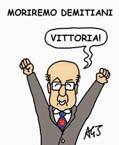 Non moriremo democristiani...  #mattarella #demita #quirinale