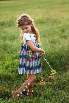 Boho Chic - Luna Dress PDF Sewing Pattern