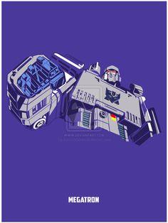 Transformers - Megatron by EvanDeCiren.deviantart.com on @deviantART