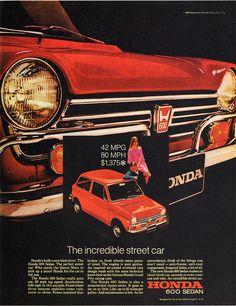 1969 Honda 600 Ad.