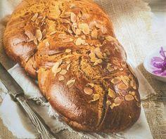 Νηστίσιμα Τσουρέκια | Συνταγή | Argiro.gr - Argiro Barbarigou Food Categories, Healthy Recipes, Healthy Food, Bread, Vegan, Breakfast, Healthy Foods, Morning Coffee, Brot