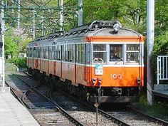 Hakone Tozan Railway - small switchback train from Hakone-Yumoto to Gora, very fun ride!