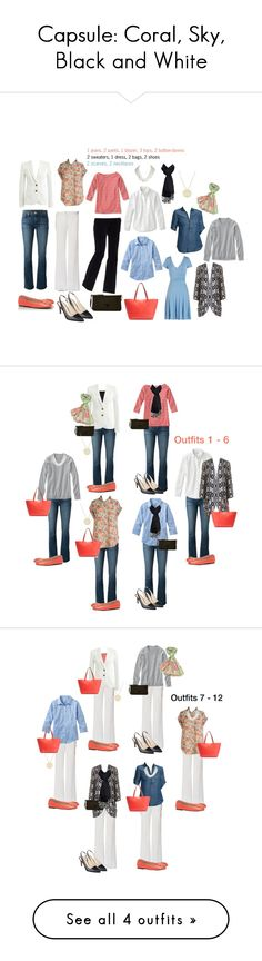 Capsule: Coral, Sky, Black and White featuring Tory Burch, Nine West, J Brand, LOFT, J.Crew, Dooney & Bourke, Trina Turk LA and Paul Smith