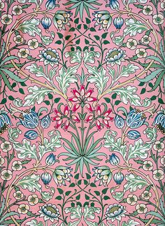 Ideas for art deco design pattern william morris William Morris Wallpaper, William Morris Art, Morris Wallpapers, Of Wallpaper, Nature Wallpaper, Designer Wallpaper, William Morris Patterns, Luis Xiv, Paper Flower Patterns