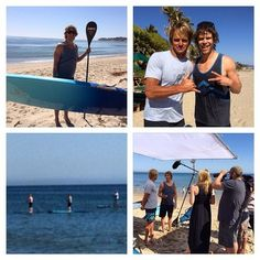 Tonight on ET, goes paddle boarding with Laird Hamilton! Also airs on ET's weekend show! Ncis, Dream It Do It, Eric Christian Olsen, Big Waves, Paddle Boarding, Hamilton, Actors, Adventure, Lifestyle