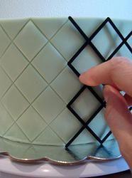 Marcador Diamond Side Design Embosser