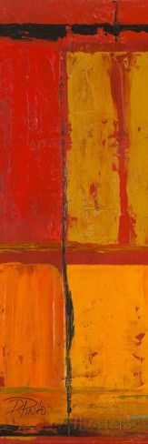 Abstraction on Red I Affiches par Patricia Quintero-Pinto sur AllPosters.fr