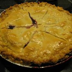 Mystery Ingredient Wild Blueberry Pie