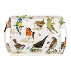 Garden Birds Bakke. 31 x 23 cm. #spb #fugle #bakke #kolonihave #roykirkham